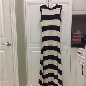 Polo Ralph Lauren Maxi Black & White Dress